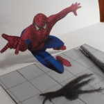 How to Draw a 3D Spiderman